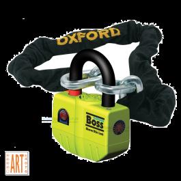 Oxford Boss Alarm met Ketting ART 4 - 200 cm
