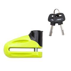 Vinz Eiger Geel 10mm Schijfremslot Remschijfslot voor Scooter en Motor