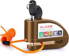 Vinz Elbroes Alarm Disc Lock - Bronze