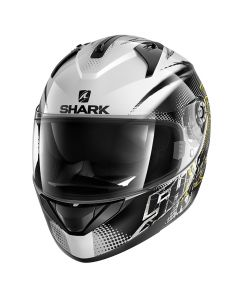 Shark Ridill Integraalhelm - Finks / Wit_1