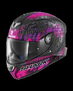 Shark Skwal 2 Integraalhelm - Switch Rider 2 / Zwart / Violet_1