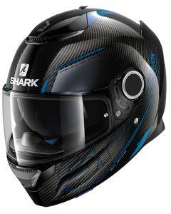 Shark Spartan Integraalhelm - Carbon_1