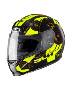 HJC CL-Y Simitic Kinderhelm - Fluor Geel