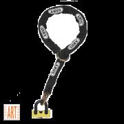 Abus Granit 67/12 Kettingslot + Loop ART 4 - 120 cm